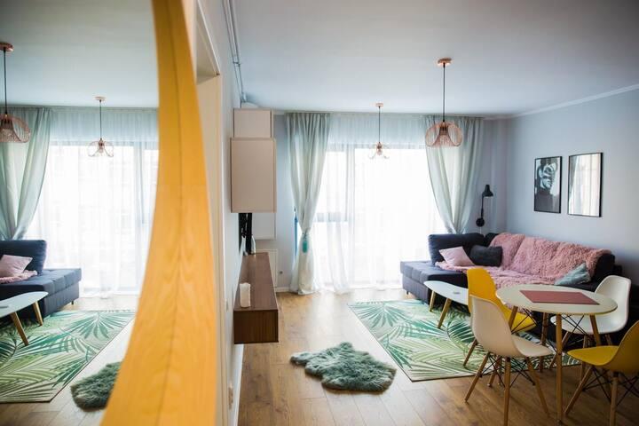Platinia cozy apartament close to iulius mall