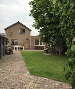 Vrijstaand huis met prachtige tuin