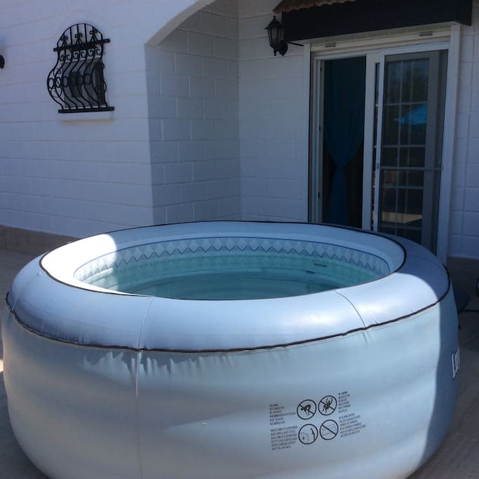 Use of jacuzzi