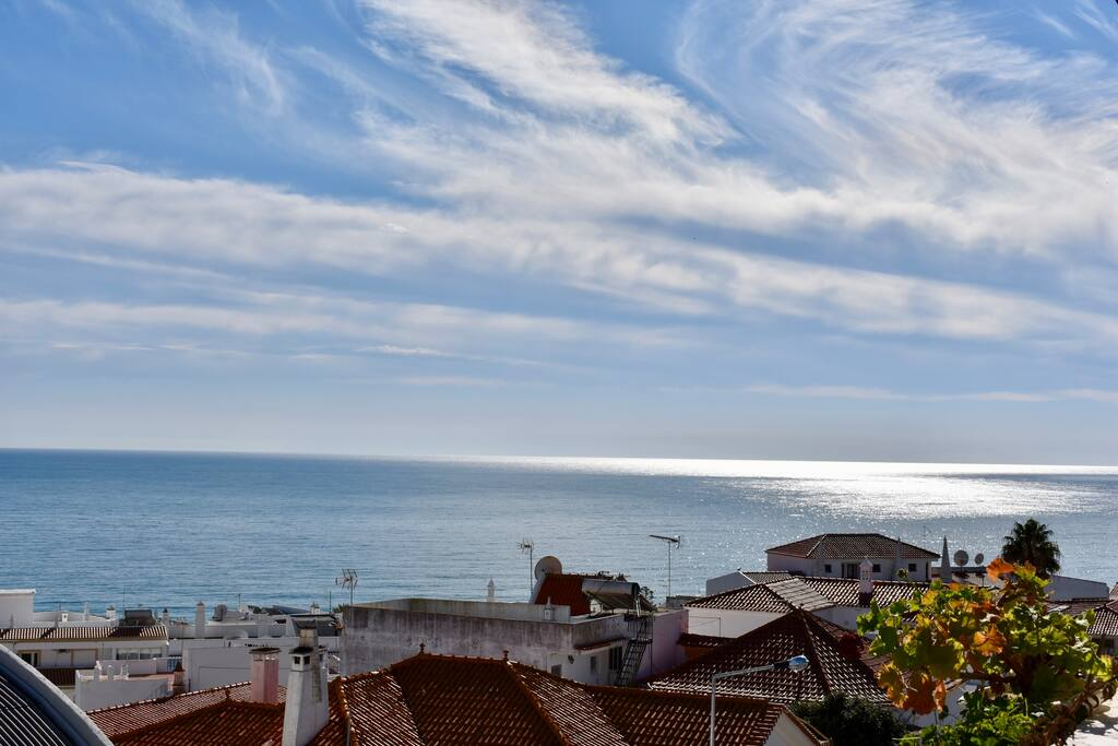 la belle vue mer du balcon