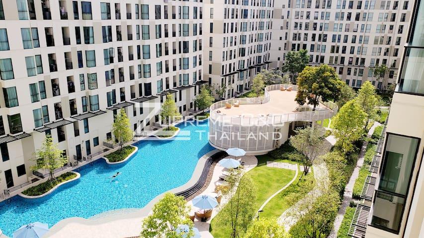 Best View! Rare Resort Style Apartment@BTS Bearing