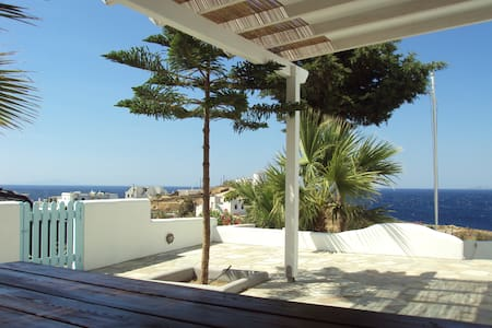 Home with stunning sea  view - Tinos