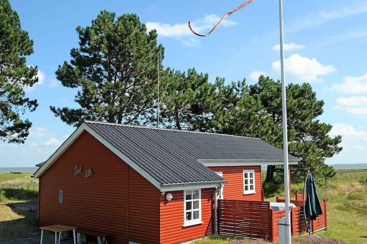 Gemütliches Ferienhaus in Romo Jütland mit Meerblick