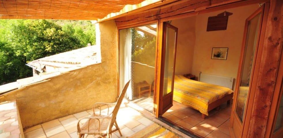 """Chambre d'Hôte """"le Pin Sylvestre"""" - Éourres - Vendégház"""