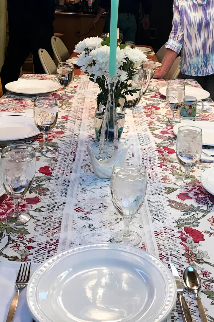 A Beautiful Table set