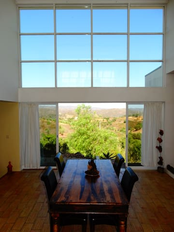 Design villa with 360 view of unspoiled Algarve