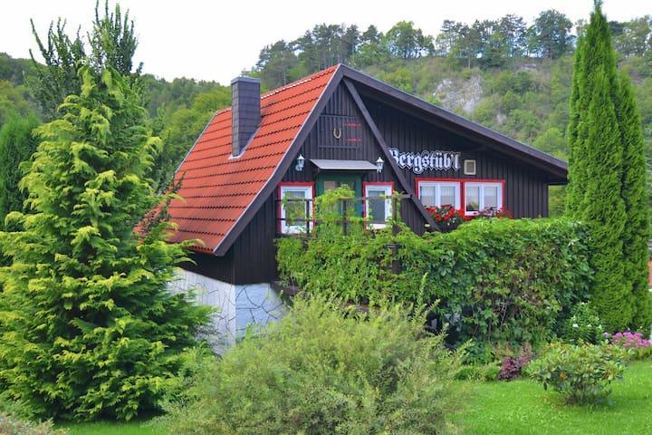Authentiek vakantiehuis in het Harz met een weids uitzicht