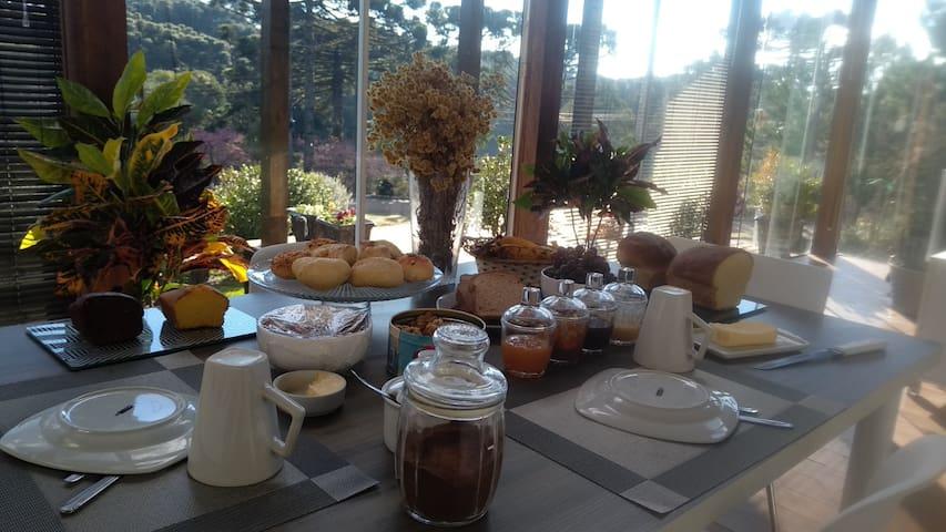 Seu café da manhã