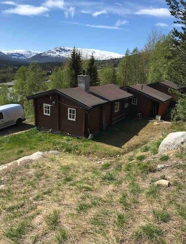 Bjorli, Hytte nær skitrekk og klatrepark