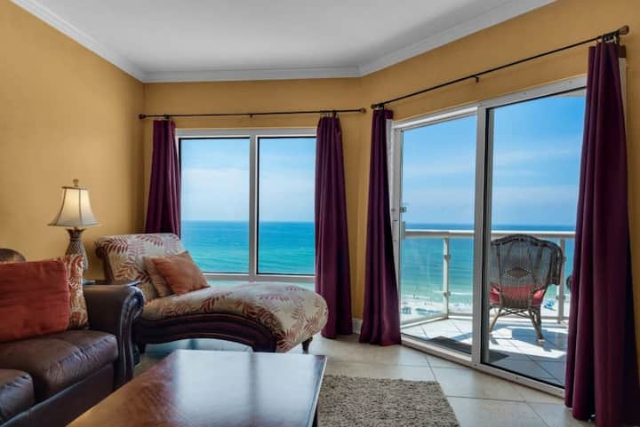 7th Heaven Gulf Front Condo at Emerald Isle!