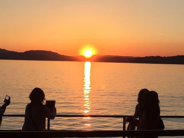 Sunset in Vitznau