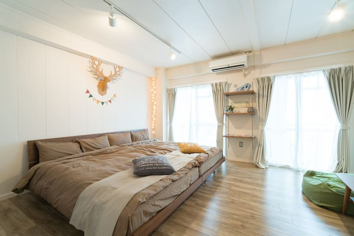 Best place for sightseeing in Naha!R502(5th floor) - Naha-shi - Appartement