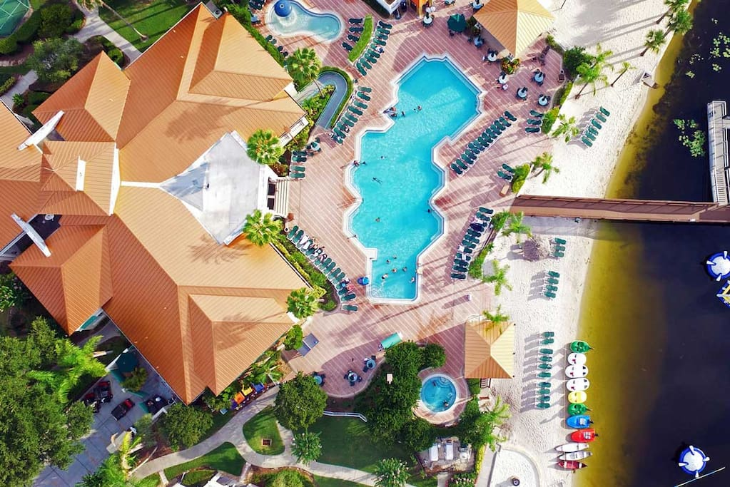 On-site water park
