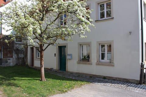 Romanttinen asunto Saksan keskustassa