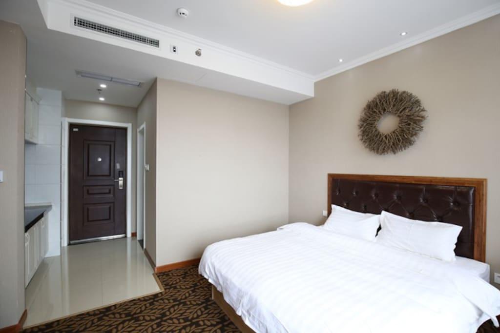 大床+电动床垫