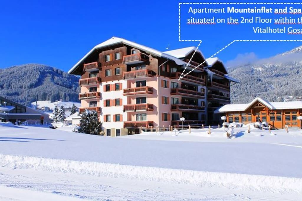 Mountainflat and Spa situated within the Hotel