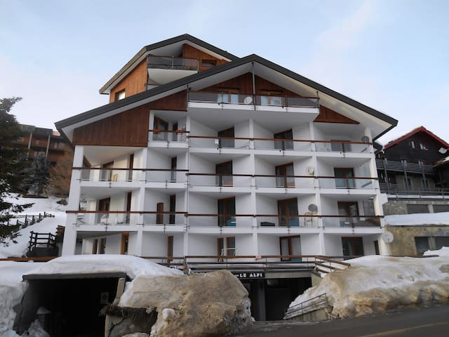 Charming apartment with view on Sestriere - Colle Sestriere - Flat