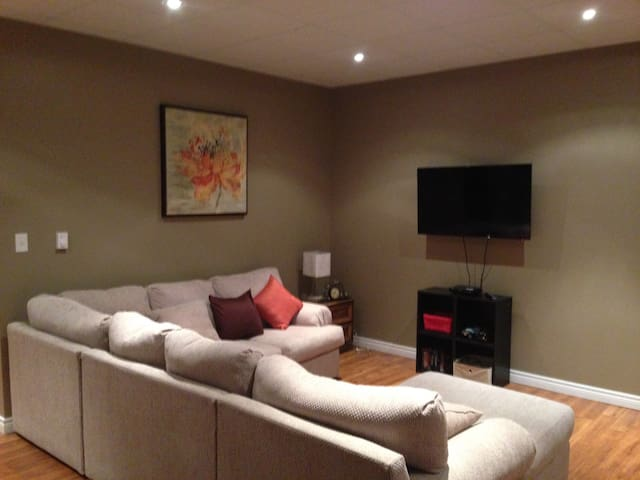 Comfortable walkout apartment to call home - Dieppe