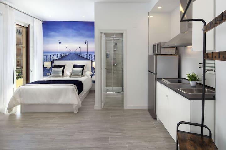 Moderno apartamento en pleno Centro de Málaga