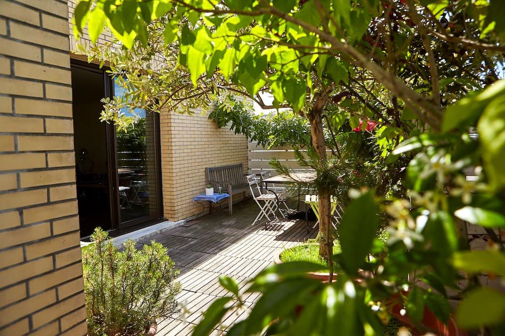 La terrasse -  wood terrace - 露台