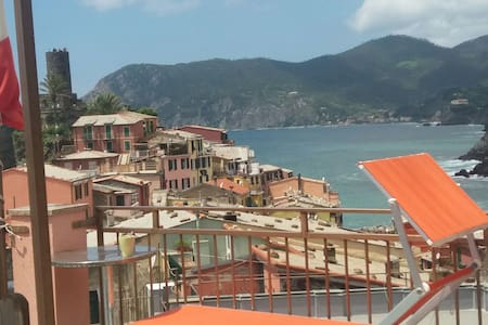 Little room with an amazing seaview - Vernazza - Talo