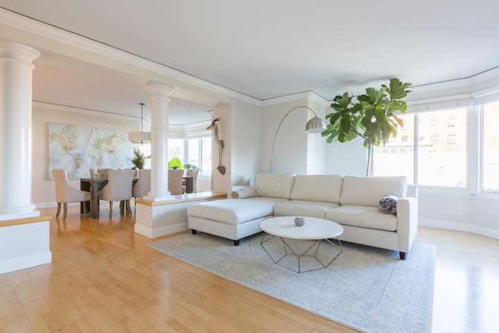 Open Bright 2 Bed/2 Bath: Near FiDi and Pier 39