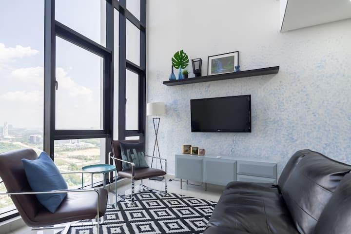 NestStay @ Cyberjaya - Skyview Duplex (2 Bedroom)