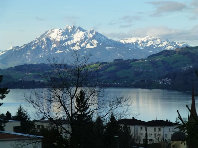Pilatus im Winter