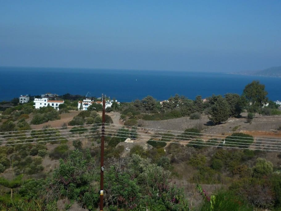 Polis Bay directly in front of Villa