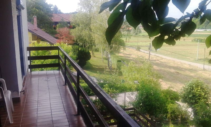 Apartmant in nature next to Zagreb - Blaškovec - Casa