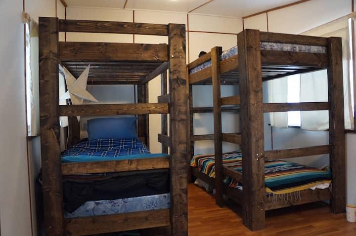 Bunk Bed 3 - Community Permaculture Farm