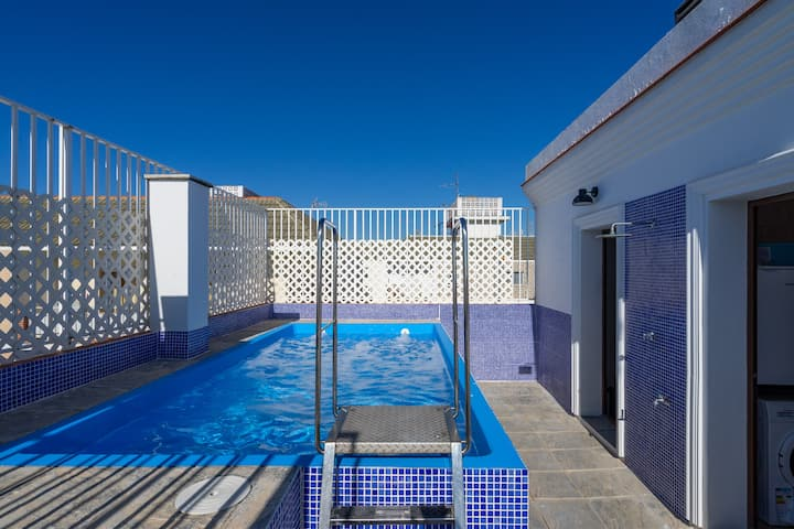 Private Pool Penthouse center La Cala de Mijas
