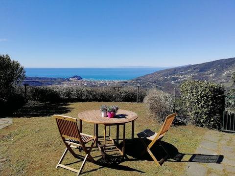 "Loft ""Verde Salvia"",Vista Mare Sestri Levante"
