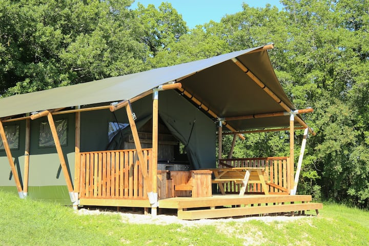 Nuits insolite, Glamping, Lot Sous Toile, tent 3