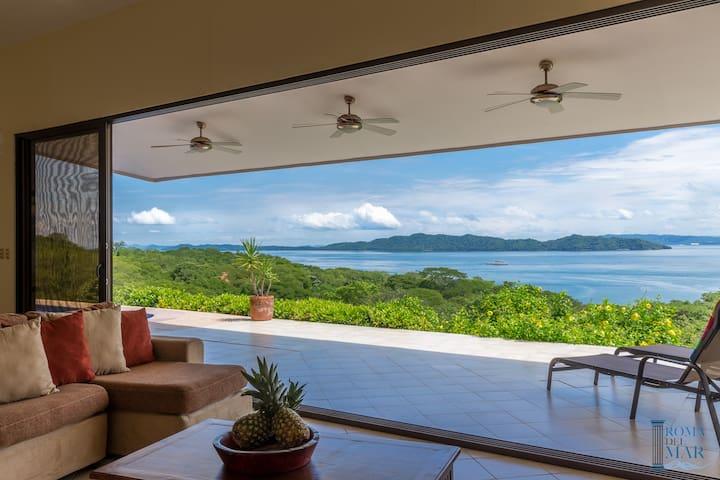 Ocean view 3BR villa  in Nicoya - PLAYA NARANJO - Casa