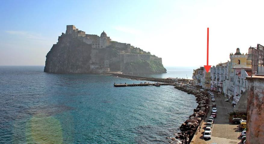 Holiday house on the sea - ischia  - Rumah