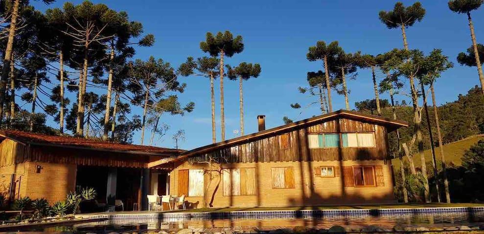 Casa de Campo com Luxo