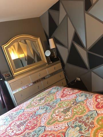 Fully high-end furnished bedroom