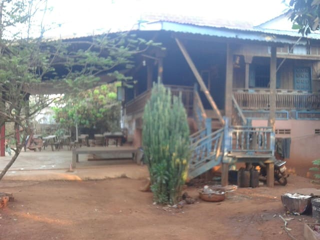 Khmer Homestay. Enjoy with locals. - Krong Ban Lung - Casa