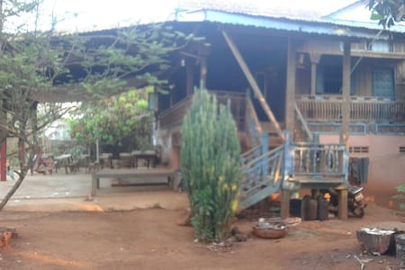 Khmer Homestay. Enjoy with locals. - Krong Ban Lung - Huis