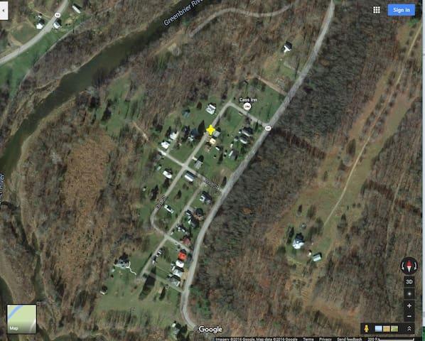 House Location in neighborhood.