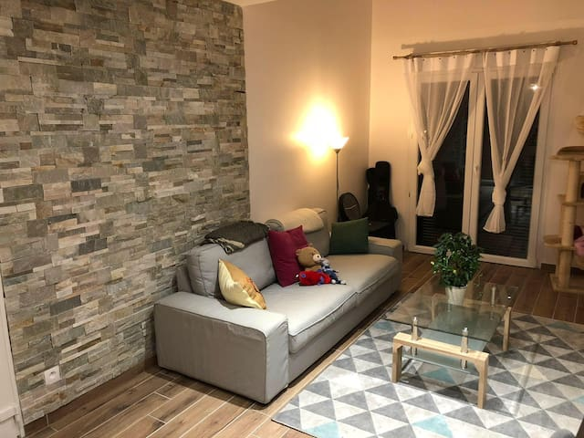 A Cozy , private room in our House