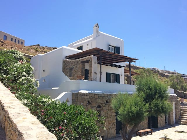 Cozy Villa in Mykonos with wonderful sea view - Faros Armenistis - Villa