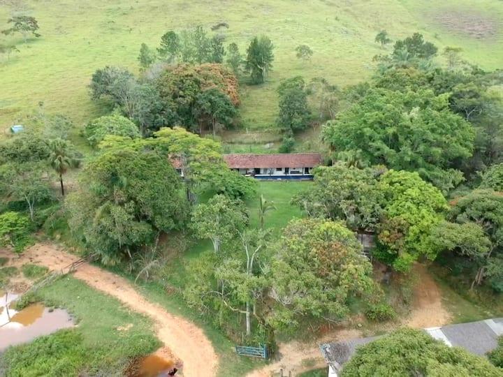 Casa na fazenda, em São José do Barreiro/SP.