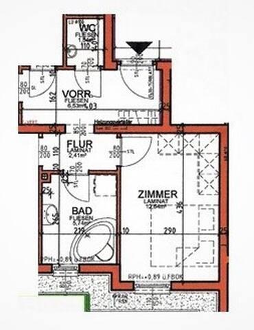 Grundriss - Ground plan