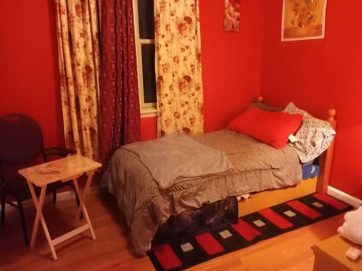 RED Rollaway Room