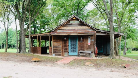 The Shack at Seven Springs Farm on 50 Wooded Acres