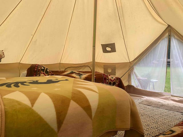 Kingfisher Tent at Hoh Rainforest Resort