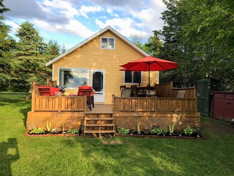 MyHappyPlaceChalet with view of Shediac Bay