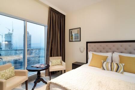 WMK Shortstay, Burj Khal view - Modern Studio 2710 - Apartemen